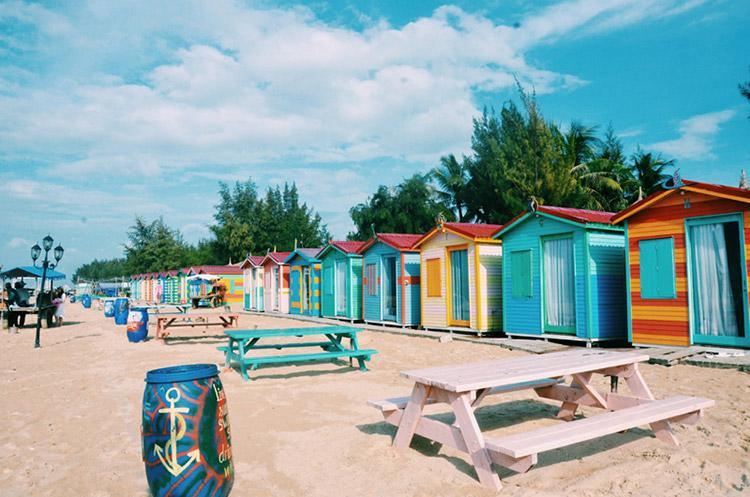 Coco Beach Camp khi đi phượt Phan Thiết