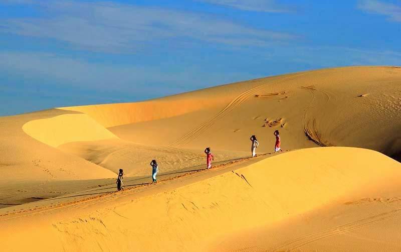 bãi cát Phan Thiết
