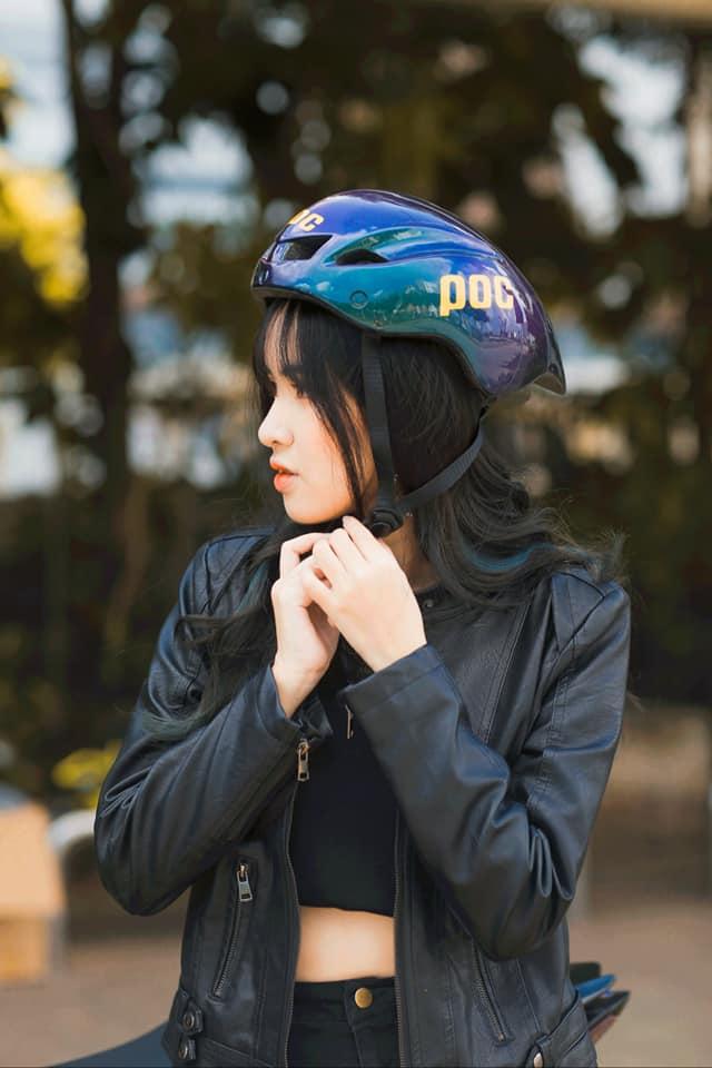 Nón xe đạp poc 01